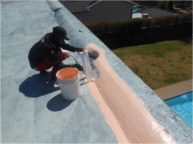 flat concrete roof waterproofing cape town seal membrane